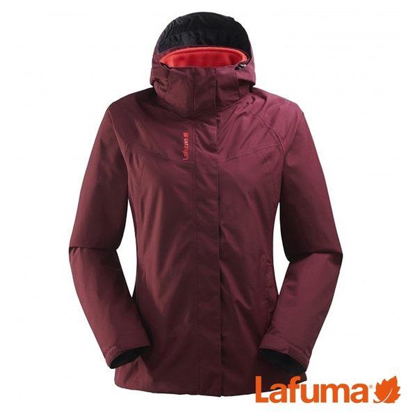 Lafuma 女 JAIPUR GTX 二件式防水保暖刷毛外套 紫紅 LFV114608601【GO WILD】