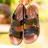 涼鞋 夏天兩用涼拖男士沙灘鞋休閒防滑涼鞋百搭時尚潮拖鞋男一字拖歐美韓