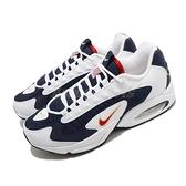 Nike 休閒鞋 Air Max Triax 白 藍 男鞋 USA 美國隊 運動鞋 復古慢跑鞋 【ACS】 CT1763-400