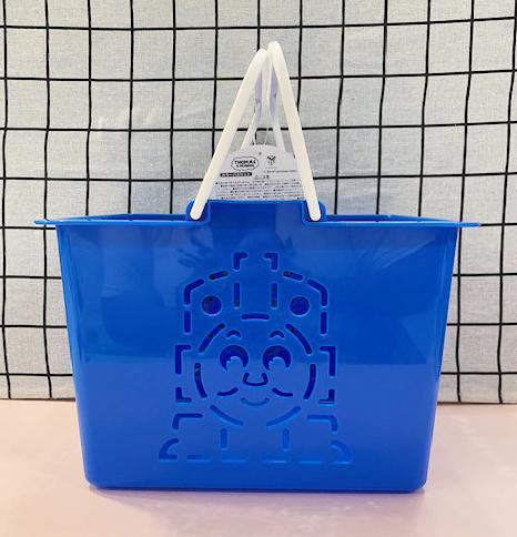 【震撼精品百貨】湯瑪士小火車_Thomas & Friends~塑膠手提籃-藍#19012