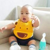 加拿大MARCUS硅膠圍兜0-1-2-3歲寶寶防水圍嘴食飯兜 嬰兒童吃飯兜 錢夫人小鋪