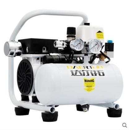 達爾拓便攜式空壓機無油靜音小型家用氣泵木工噴漆空氣壓縮機220v 漫步雲端