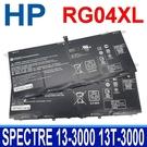 HP RG04XL 原廠電池 Spectre 13-3000 13T-3000 13-3000ED EA EE 13-3090EZ 13-3092EF 13-3004TU 13-3012TU 13-3017TU