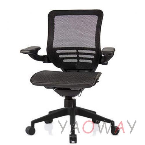 【耀偉】SL-D5 尼龍椅腳-超值功能椅(人體工學椅/辦公椅/電腦椅/網椅)