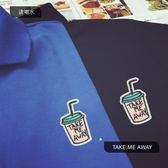 夏季短袖t恤韓版韓版潮流學生寬鬆港風文藝小清新POLO衫男 限時八五折 鉅惠兩天