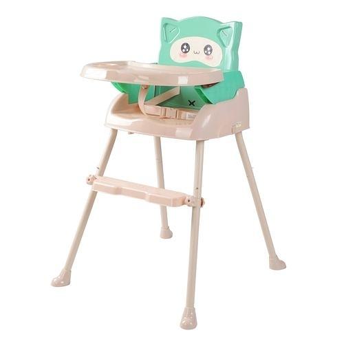 Cuibaby 酷貝比 好奇貓四合一兒童用高腳椅-抹茶綠[衛立兒生活館]