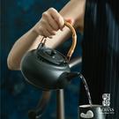 陸寶【寶滿燒水陶壺1號 0.9L】岩黃/穀栗/禪風黑 遠紅外線陶壺