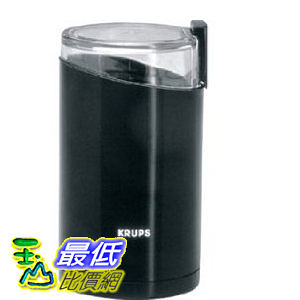 [美國直購] 咖啡磨豆機 Krups 203-42 Fast Touch Coffee Grinder, Black Krups TB02
