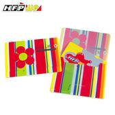 10元/個[限時特價] 【10個量販】發票點數收納袋橫式悠遊卡套 HFPWP *隨機出色* 台灣製 S230-10
