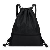 束口袋抽繩雙肩包男女防水輕便折疊戶外旅行運動簡易背包健身包袋 韓國時尚週