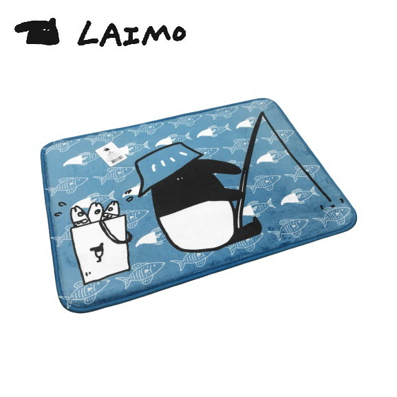 【LAIMO馬來貘】馬來貘釣魚地墊 45x65cm (止滑地墊 1.2CM厚度 舒適有質感)