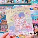 正版授權 三麗鷗卡片 雙子星 KIKI&LALA 三摺卡片 生日卡 萬用卡片 卡片 附信封 A款 COCOS DA030