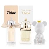 Chloe' Les Mini Chloe 小小系列兩入組[白玫瑰+芳心之旅淡香精]+擴香石