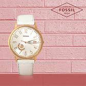 FOSSIL 手錶 專賣店 ES3751 女錶 石英錶 原廠輕薄皮革 防水 礦石強化玻璃 全新品 保固一年 開發票