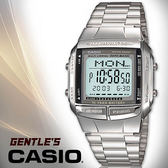 CASIO 手錶專賣店 卡西歐 DB-360-1A  DATA BANK系列 男錶 頭文字D  不繡鋼錶帶 可調式帶扣