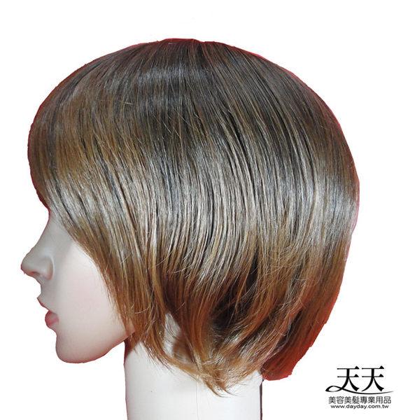 【旁分.斜瀏海不對稱短髮造型】全頂假髮(化纖)G147B (#2T30) [32151]