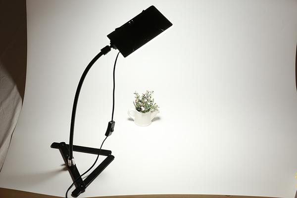 【EC數位】20W Led手機燈 + 軟管 + 翻拍架 套裝組 手機翻拍組 簡易攝影 翻拍 商攝 補光 小物拍攝