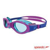 胖媛的店 SPEEDO 兒童運動泳鏡 Futura Biofuse Flexiseal 紫/薄荷綠 SD811595C586N
