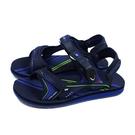 G.P (GOLD PIGEON) 阿亮代言 運動型 涼鞋 深藍色 男鞋 G0792M-20 no456