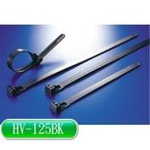 KSS HV-125BK 活用式紮線帶 黑 (100PCS)