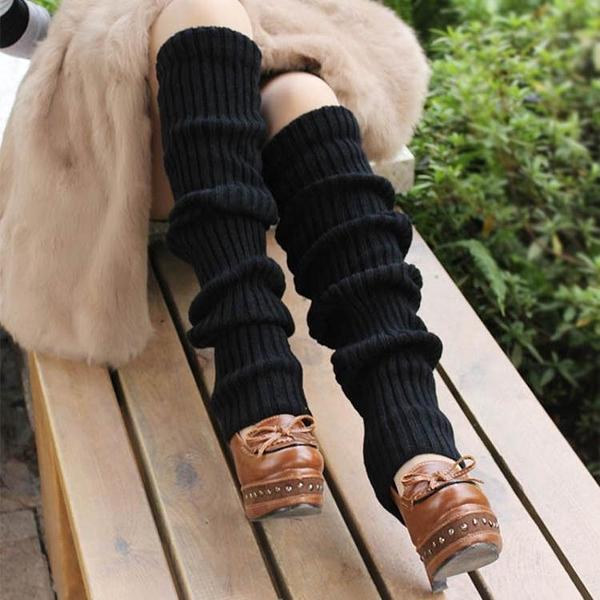 護膝襪套女過膝襪子秋冬加厚靴套辣妹腿套原宿襪筒護腿超長堆堆襪