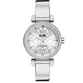 COACH 耀眼迷人時尚腕錶/白14502541