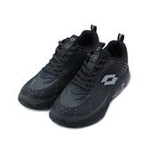 LOTTO 氣動樂跑 KPU氣墊跑鞋 黑 LT1AMR3100 男鞋