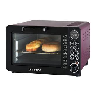 【unopan】unopan 無油空氣油炸烤箱-14公升(紫色)
