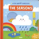 【幼兒認知學習書】MY FIRST ANIMATED:THE SEASONS /硬頁操作書《主題:季節》