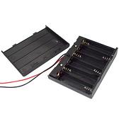 【DY326】電池盒3號6槽含蓋 電池盒 塑料電池盒 帶線 外蓋 串聯 EZGO商城