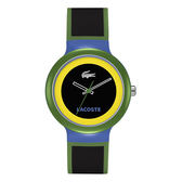 Lacoste Goa小法國創意系列腕錶-黑