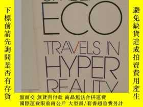 二手書博民逛書店安伯託·艾柯罕見Travels in Hyper Reality