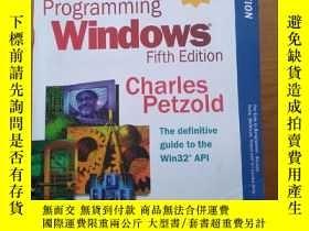 二手書博民逛書店programming罕見windows (fifth edit