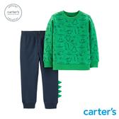 【美國 carter s】 恐龍叢林2件組套裝