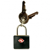 TSA 鑰匙海關認證鑰匙鎖 #0126 黑