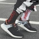 襪子 街頭翻玩潮流可樂襪【AH25】青山 線條 中筒襪 潮流 運動風 搭配 襪子 工裝搭配 美式 滑板