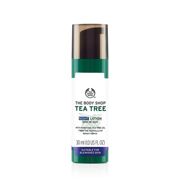 【THE BODY SHOP】天然茶樹淨膚夜間修護乳30ML