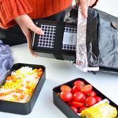 便當盒日式字母PP雙層上班飯盒微波爐學生便當午餐盒壽司盒保鮮盒【萬聖節全館大搶購】