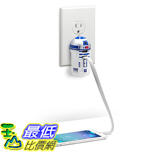 [美國直購] Star Wars 座充 充電器 R2-D2 USB Wall Charger 星際大戰