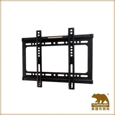 美國布朗熊 HF-S牆板固定式電視壁掛架(適用22-37吋電視)