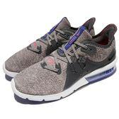 【六折特賣】Nike 慢跑鞋 Wmns Air Max Sequent 3 灰 紫 輕量透氣 氣墊 女鞋 運動鞋【PUMP306】908993-013