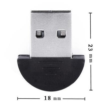 【贈點折抵免運】現貨 可刷卡  迷你 USB 藍芽接收器 2.0版 Mini Bluetooth 2.0 支援XP WIN7 無驅動光碟