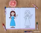 寶寶塗色畫2-3-4-5-6周歲兒童塗鴉畫畫本繪畫冊幼稚園學畫填色書【全館鉅惠】