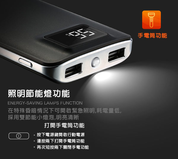 三星行動電源 新款上市 液晶螢幕顯示行動電源20000mAh 額定釋放 精準液晶 iphone7/6/8X 安卓都支援