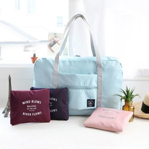 旅行輕便摺疊包便攜多功能超輕可收納大容量可套拉桿行李箱收納袋 黛尼時尚精品