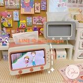 懶人手機支架創意復古桌面床頭看電視支架【大碼百分百】
