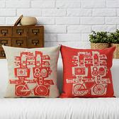 可愛時尚結婚禮物 創意家居裝飾抱枕1 (一對含枕心)