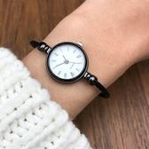 英倫風手錶 百搭指針式細帶飾品女錶  【新飾界】 新飾界