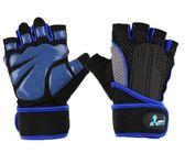 半指健身手套男防撞運動女器械訓練單杠啞鈴防滑透氣護腕防護護具2色