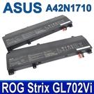 華碩 ASUS A42N1710 原廠電池 ROG Strix GL702 GL702V GL702Vi A42LM5H